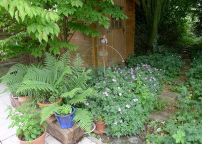 Pots - hibou en fer forgé - couvre-sol